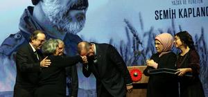 """Cumhurbaşkanı Erdoğan, """"Buğday"""" filminin galasına katıldı"""