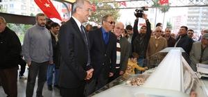 Mezitli'ye modern balık pazarı açıldı