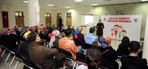 Kepez'de 'Aile İçi Şiddeti Önleme' semineri