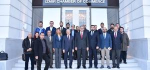 İTO binasını tanıtan Demirtaş, eski binanın eğitime ayrıldığını açıkladı