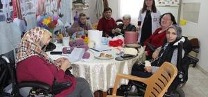 Karadeniz Omurilik Felçlileri Derneğinde örgü kursu açıldı