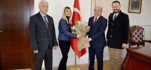 Medicalpark Karadeniz Hastanesi yöneticilerinden anlamlı ziyaret