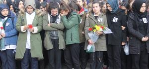 Trafik kazasında yaşamını yitiren öğretmen için tören