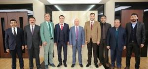Başkan Çolakbayrakdar, MHP heyetini misafir etti