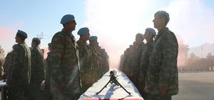 Denizli ve Manisa'da eğitimini tamamlayan askerler yemin etti
