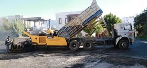 Eskiçeşme Mahallesinde asfalt çalışmaları