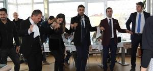 Siirt'te halaylı horonlu öğretmenler günü kutlaması