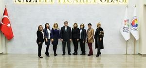 OBB Aydın Kadın Girişimciler Kurulu, Nazilli Ticaret Odası'nda toplandı