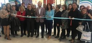 'Kadına şiddete hayır' sergisi açıldı