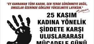 """Başkan Özakcan; """"Kadınsız bir dünya olmaz"""""""