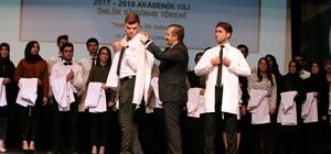 GAÜN'de 74 öğrenci beyaz önlük giydi