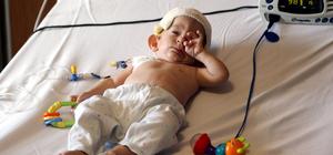 Suriyeli bebek, Türkiye'de sağlığına kavuştu