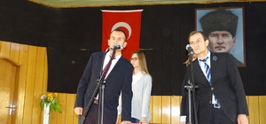 Hisarcık'ta genç öğretmenler yemin etti