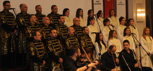 Medeniyetler Korosu Cizre'de öğretmenler için konser verdi