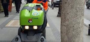 Melikgazi sokakları vakumlu süpürge ile temizlenecek