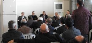 Antalya Emniyeti'nden Şehirlerarası Otobüs Terminalinde Hanutçulukla Mücadele Toplantısı