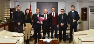 Personeli, Başkan Kayda'nın Öğretmenler Günü'nü kutladı