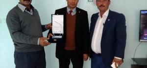 Besni'de çiftçiye 'Yılın Yenilikçisi' ödülü