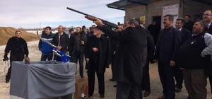 Ereğli Polis Mesleki Eğitim Merkezinin yeni atış poligonu açıldı