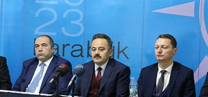 AK Parti il yönetimi basınla bir araya geldi