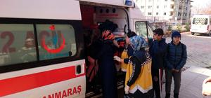 Kahramanmaraş'ta öğrenci servisi ile otomobil çarpıştı: 6 yaralı