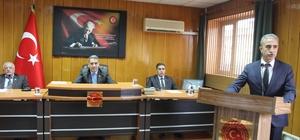 Müdür Çelik il genel meclisinde çalışmaları anlattı