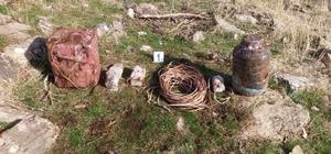 Bitlis'te 2 el yapımı patlayıcı imha edildi