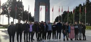 AK Parti Pazarlar İlçe Gençlik Kolları Başkanlığı'ndan Çanakkale gezisi