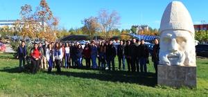 Öğrenciler Adıyaman Üniversitesini gezdi