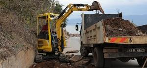 Körfez'de 2,5 kilometrelik su kanalı temizlendi