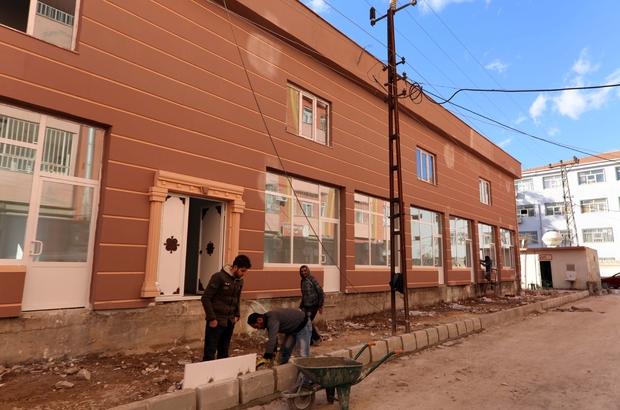 Mardin'de 16 mahalle muhtarı bir binada hizmet verecek