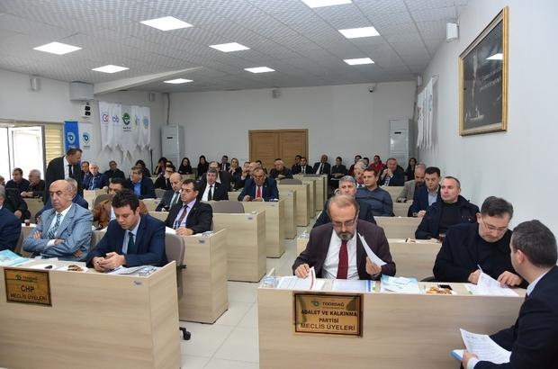 Tekirdağ Büyükşehir Belediyesi Kasım Ayı Meclis toplantısı