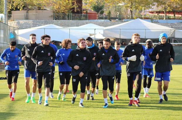Kardemir Karabükspor'da kupa maçı hazırlıkları tamamlandı