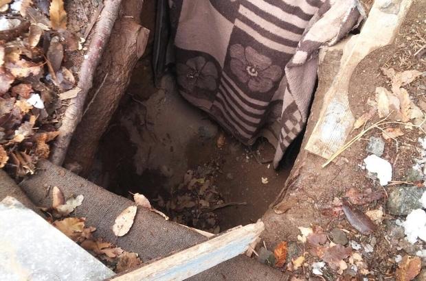 Bitlis'te sığınakta yaşam malzemeleri ele geçirildi