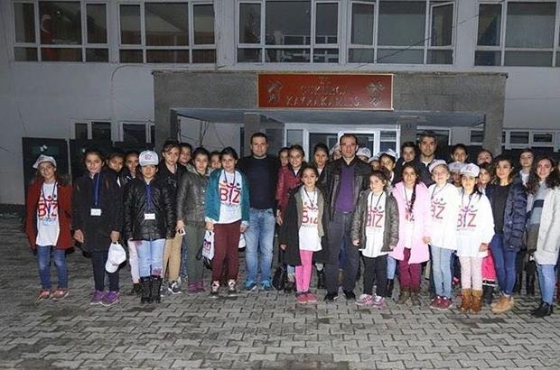 Çukurcalı öğrenciler İstanbul'dan mutlu döndü