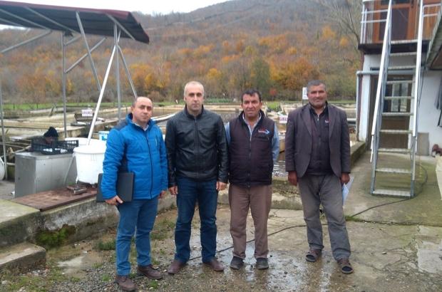 Alalabalık üretim tesis sahiplerine hibe desteği anlatıldı