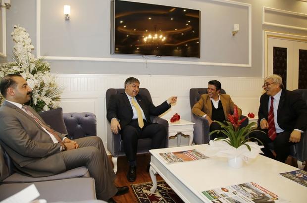 Irak Büyükelçisi Al Alawi'yi Döşemealtı'nda