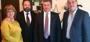 Vali Yılmaz, Ankara'da Burdurlularla Buluştu