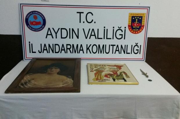 Aydın'da tarihi eser kaçakçılığı operasyonu