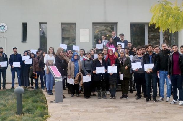 Oğuzeli MYO Öğrencilerinden Ekolojik Binaya Ziyaret