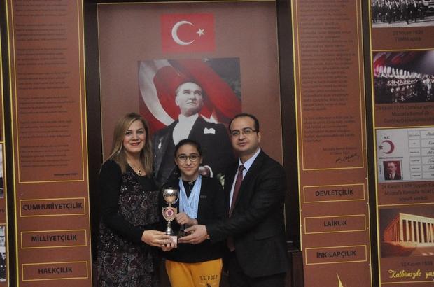 GKV'li Altın kulaç Diclesu üç kategoride bölge şampiyonu
