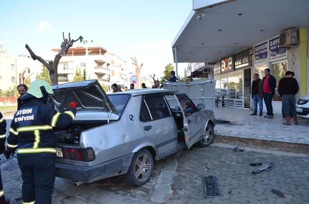 idim'de trafik kazası: 1 ağır yaralı