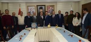 Asimder ve Azerbaycan Bdm'den Vali Ünlü'ye ziyaret