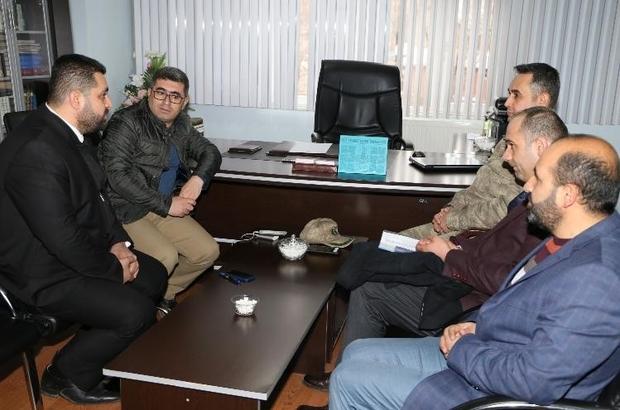 Kaymakam Çetin'den Müftü Aktoprak'a ziyaret