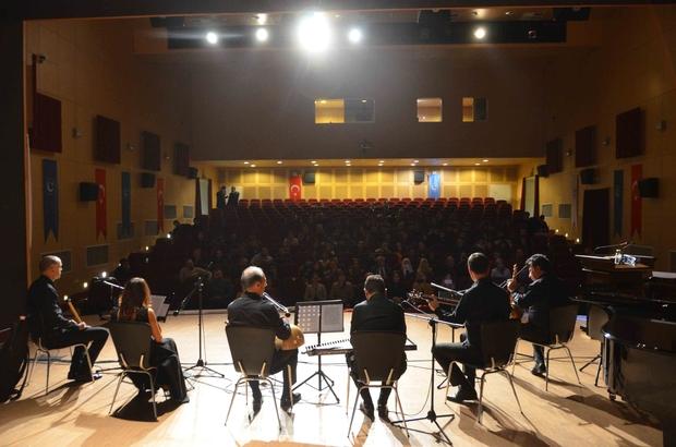 İTÜ'lü müzisyenler Adıyaman Üniversitesinde konser düzenledi