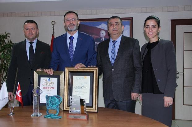 MTSO, turizmde uluslararası iki ödül birden aldı