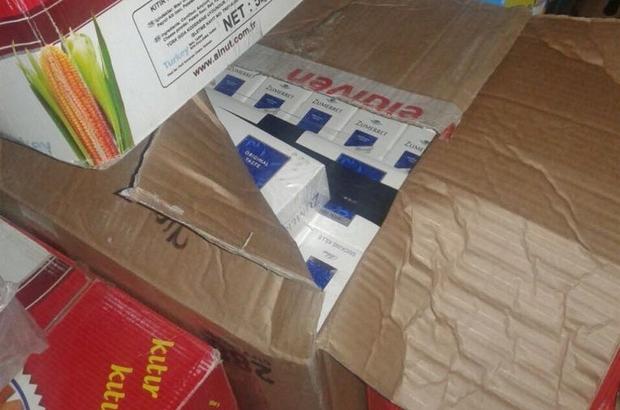 Şanlıurfa'da 7 bin 710 paket kaçak sigara ele geçirildi
