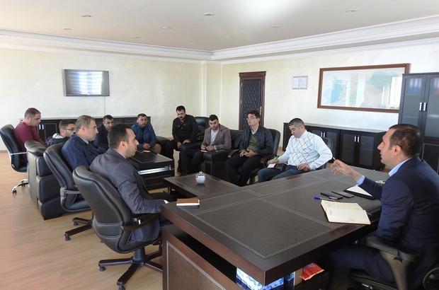 Bedirhanoğlu, çalışmalara ilişkin istişare toplantısı yaptı