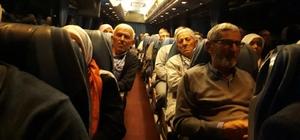 65 kişilik kafile kutsal topraklara uğurlandı
