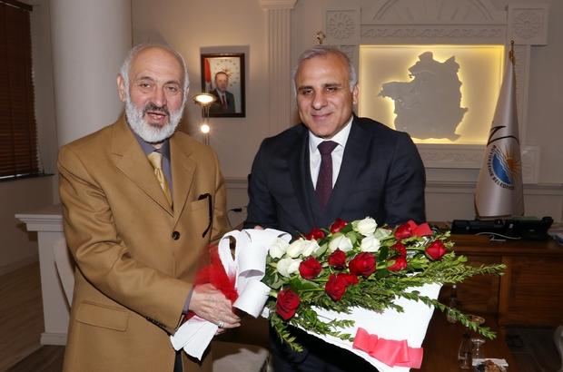 Müftü Arvas'tan Vali Zorluoğlu'na ziyaret